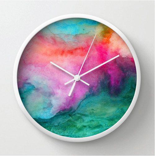 how to make a clock - modern wall clock