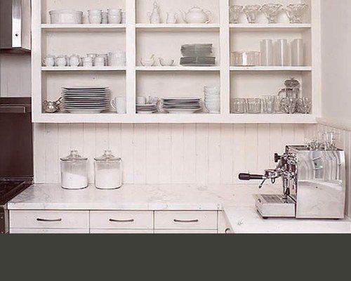 Simpy & Chic Open Shelving kitchen
