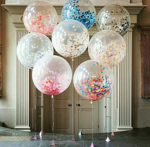 Balloon home decorations