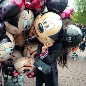 Minnie & Micky Mouse balloons decorations