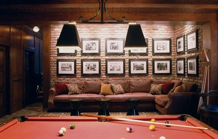 Luxury game room ideas