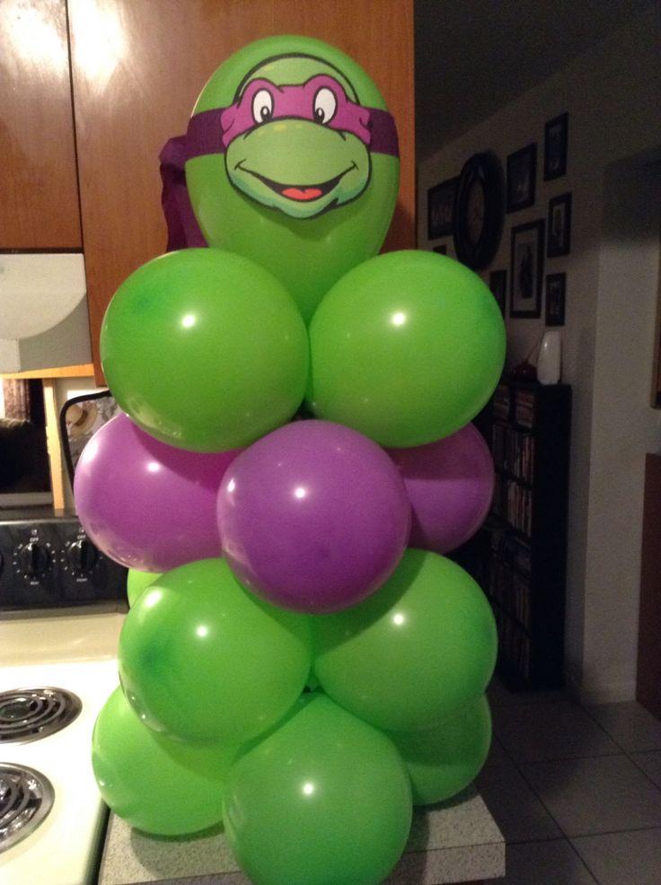 ninja turtles balloons decorations