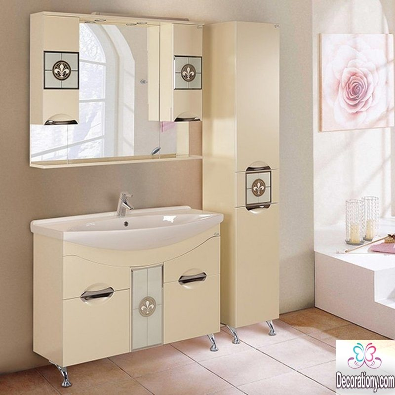Ideas For Decorating A Large Bathroom Mirror: 20 Bathroom Mirror Ideas & Best Decorative Bathroom Mirrors