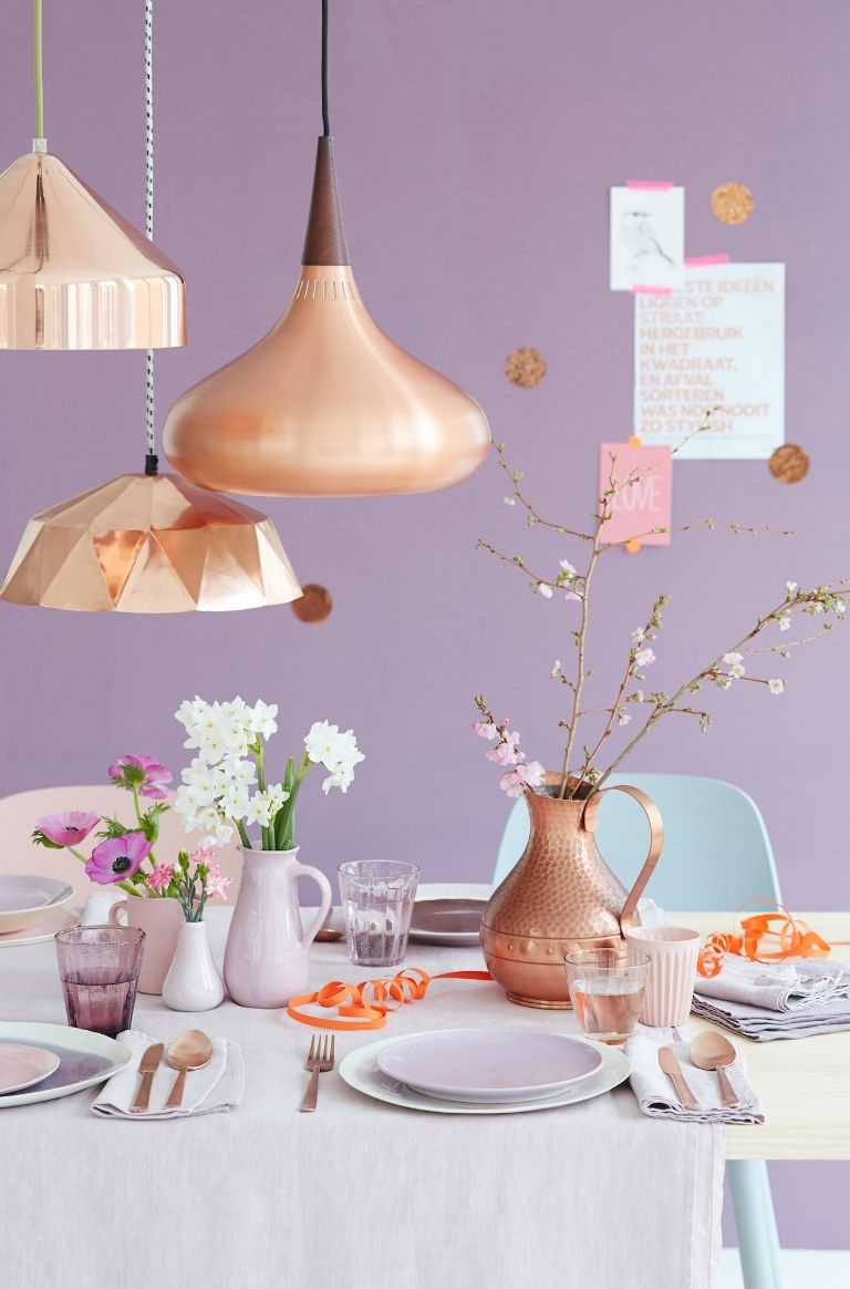 Home decor copper trend this year 2017