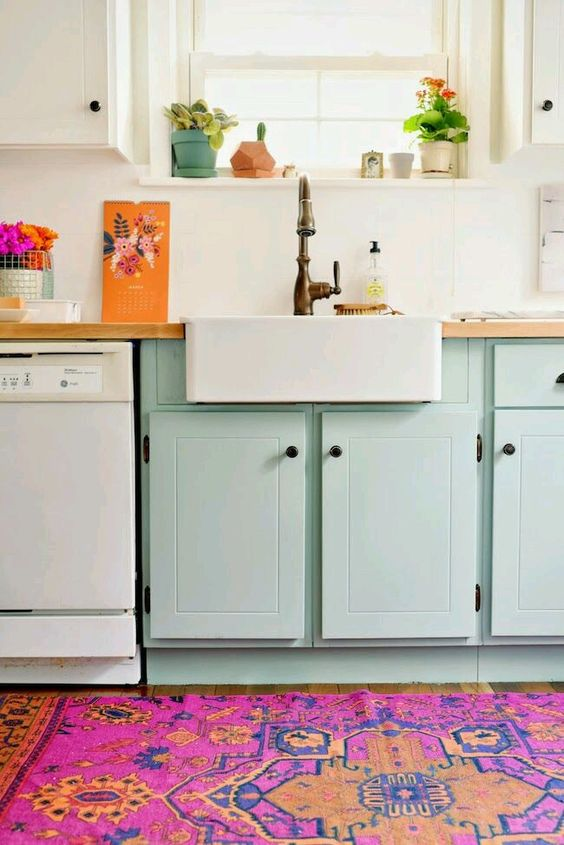 Trendy kitchen area rugs 2017