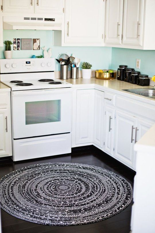 Rounded kitchen area rugs