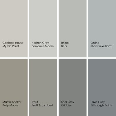 gray kitchen color ideas