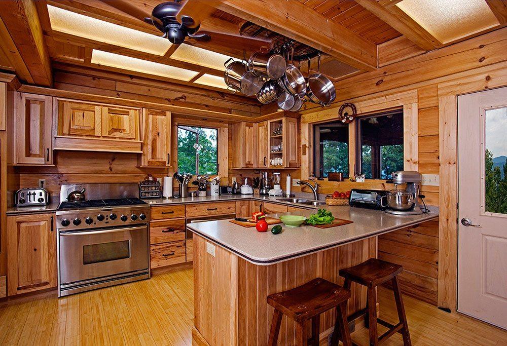 Rustic interior design legen style