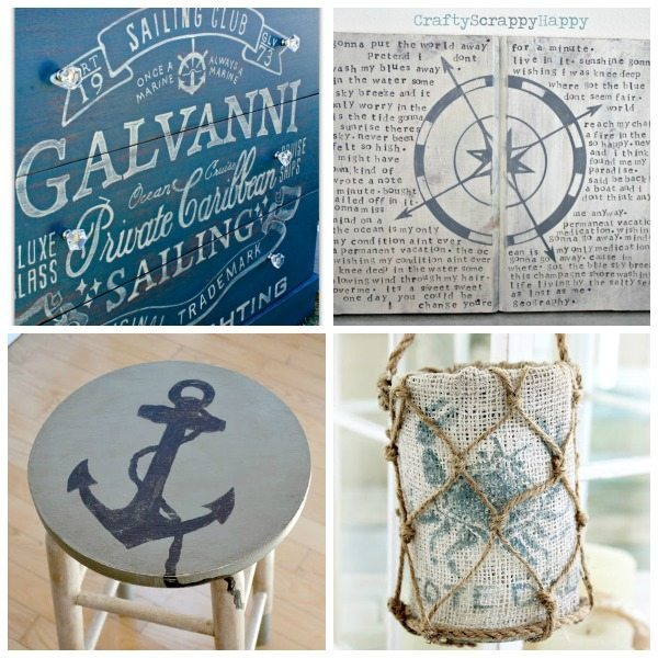 Nautical decorations simple diy - DIY Nautical party decorations