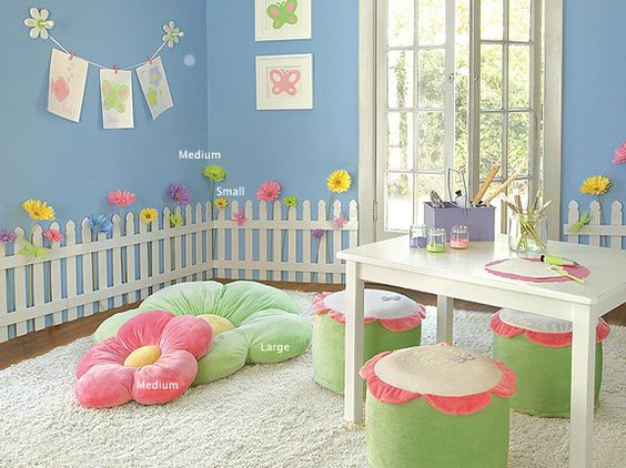 girls kids game room design