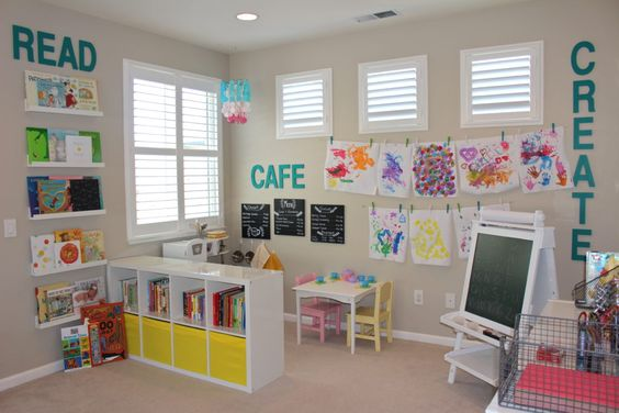 kids playroom design idea