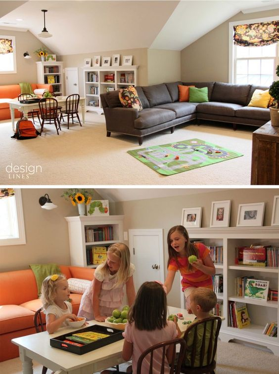 Kids play room design