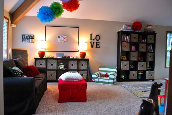 kids game room design