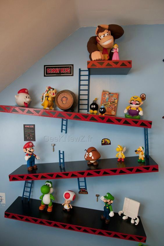 Kids toys wall game room