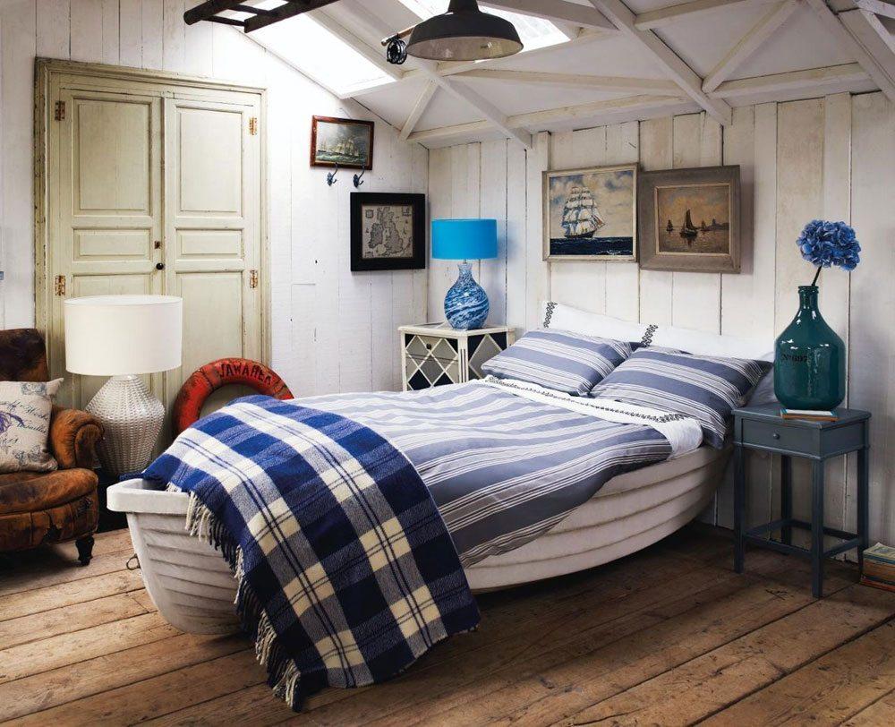 Best bedroom nautical decor - bedroom boat