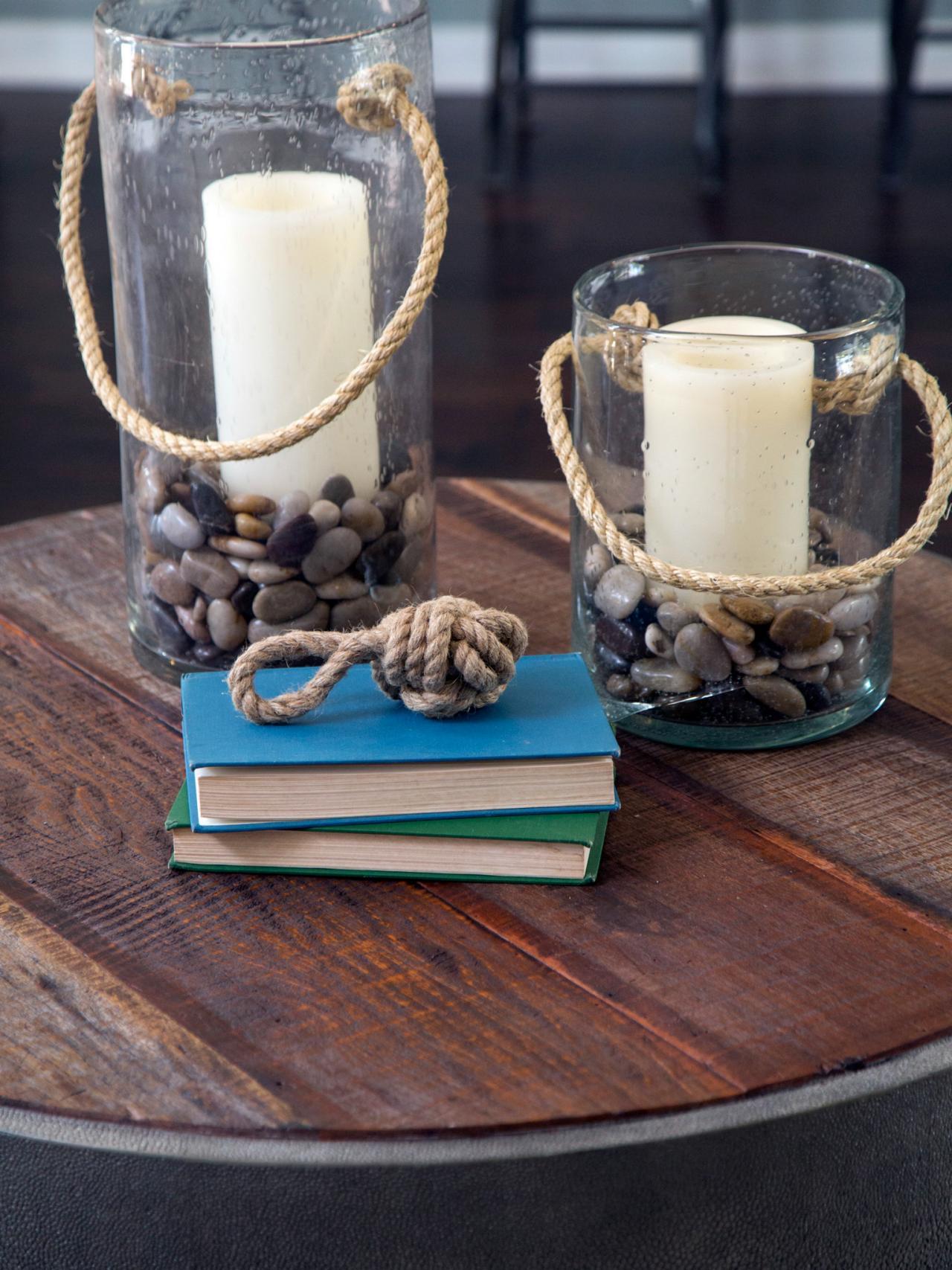 diy nautical decor candlestick ideas