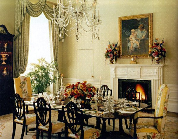 victorian interior design dining room