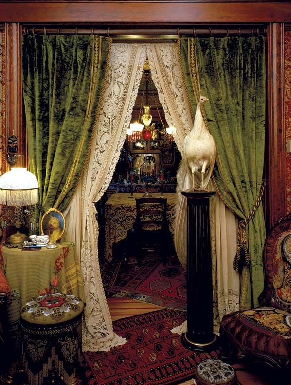 victorian curtain styles