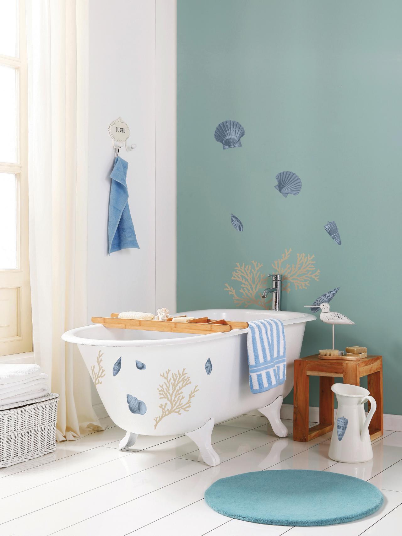 bathroom nautical decor theme ideas