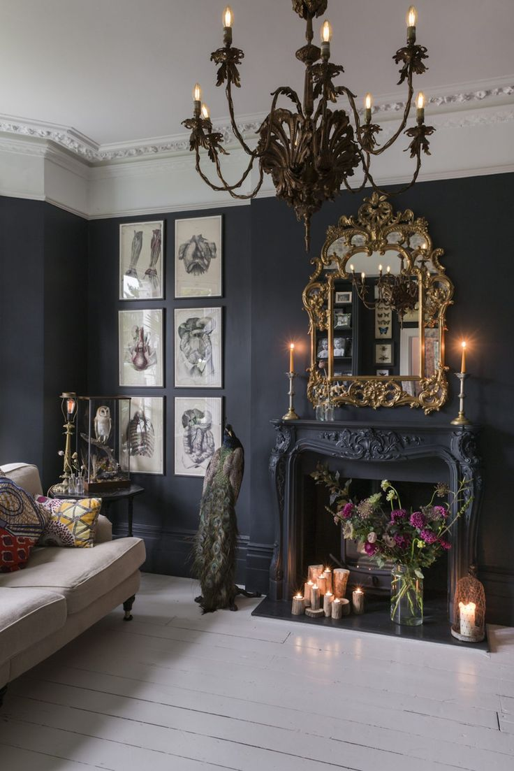 dark victorian decoration