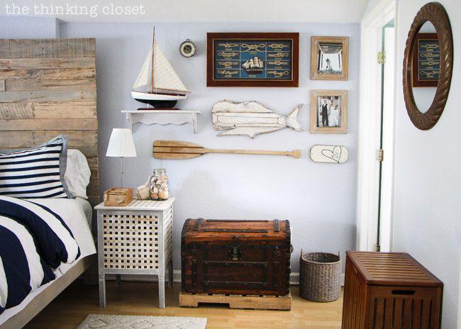 bedroom nautical decor ideas