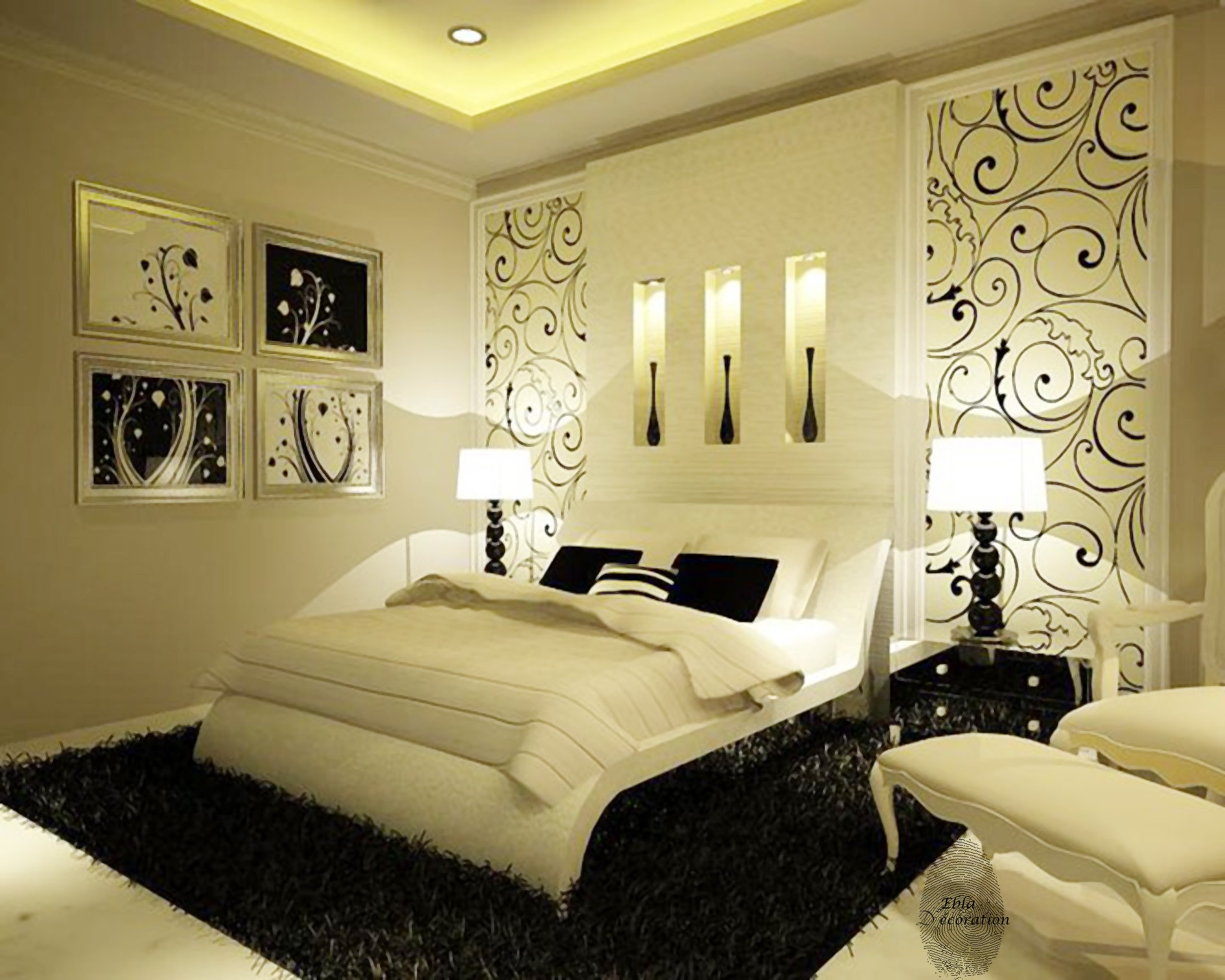 50 best bedroom interior design 2017 bedroom for Small room interior