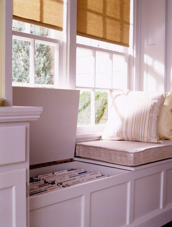 storage window seat