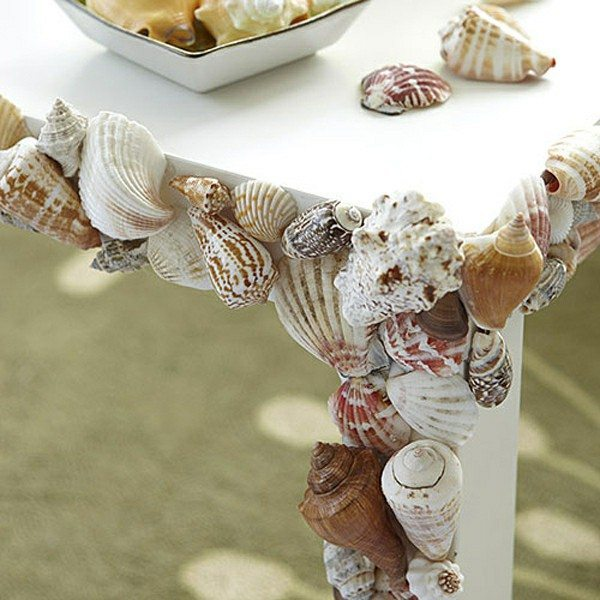 Diy nautical decor ideas with mussels