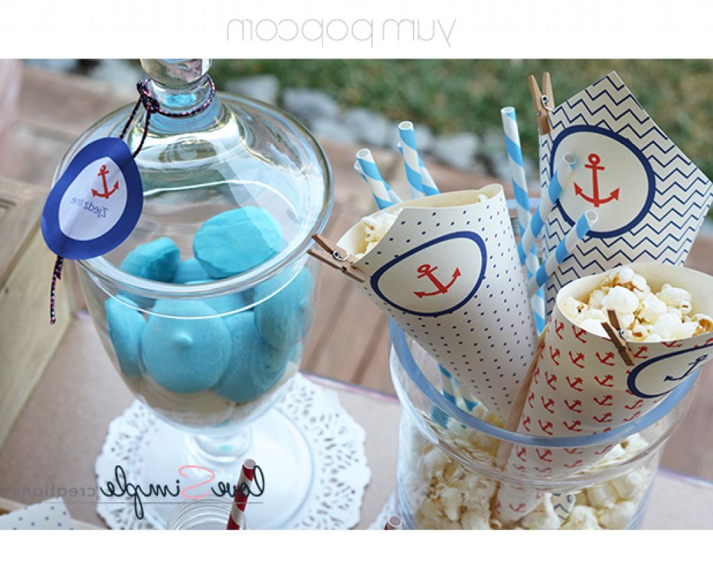 Nautical decorations party ideas