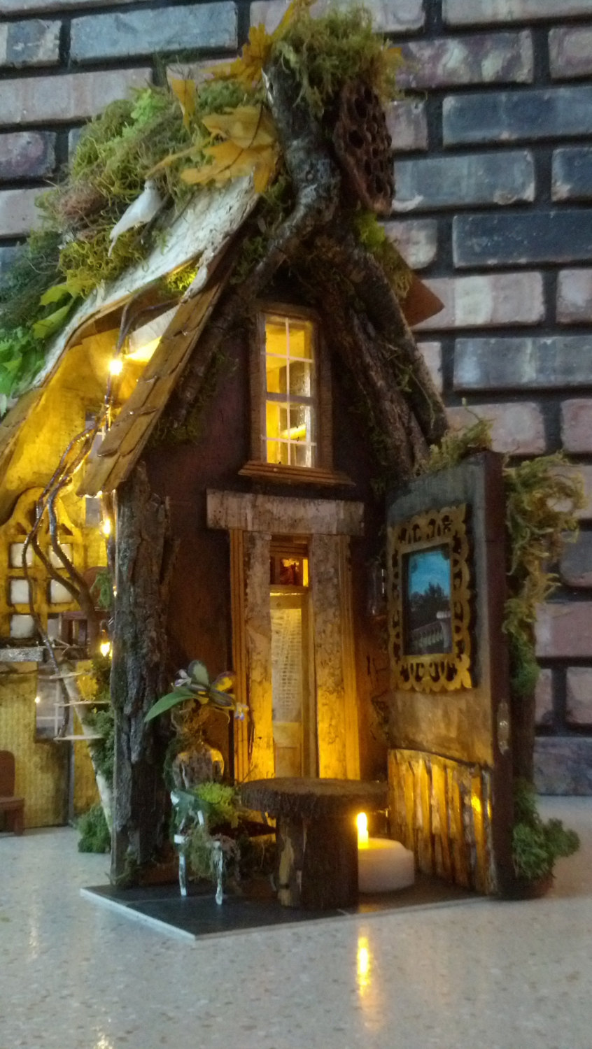 Fairy garden dollhouse