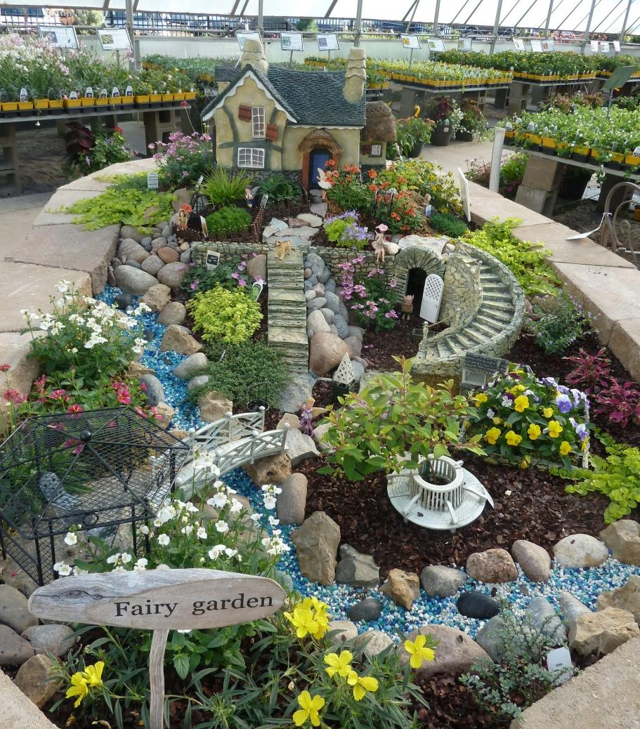 Best fairy gardens 2017