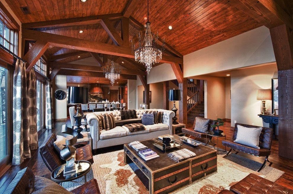Impressive rustic interior design