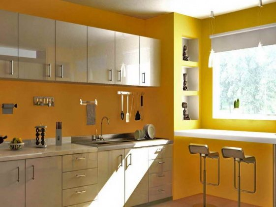 kitchens-painting-kitchen-walls-what-color-to-paint-kitchen-walls-with-yellow-paint