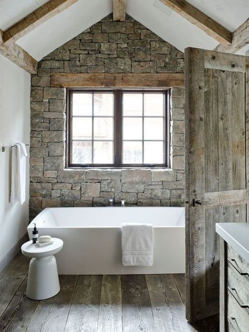 farmhouse bathtub design