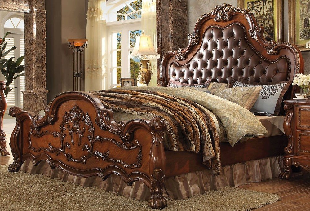 master victorian bedroom - bed