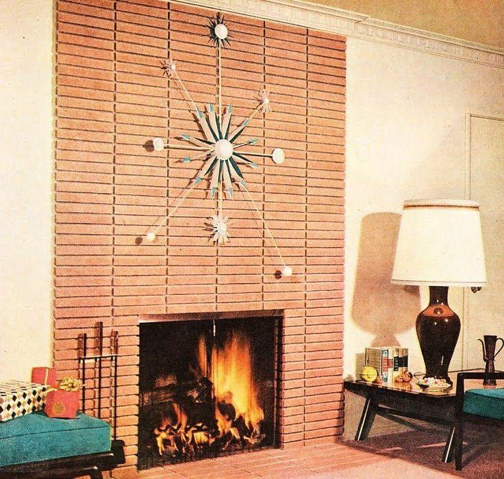 modern fireplace mid centure