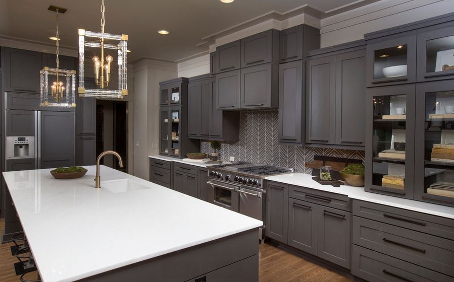 modern gray kitchen color ideas