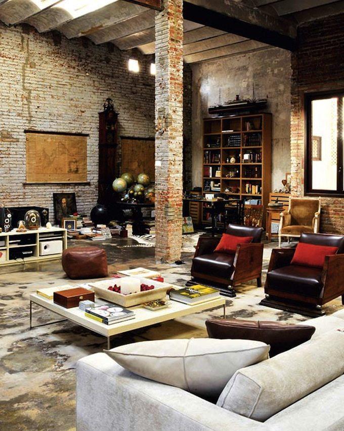 Luxurious rustic interior design