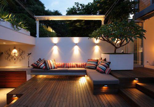 small backyard ideas - no grass