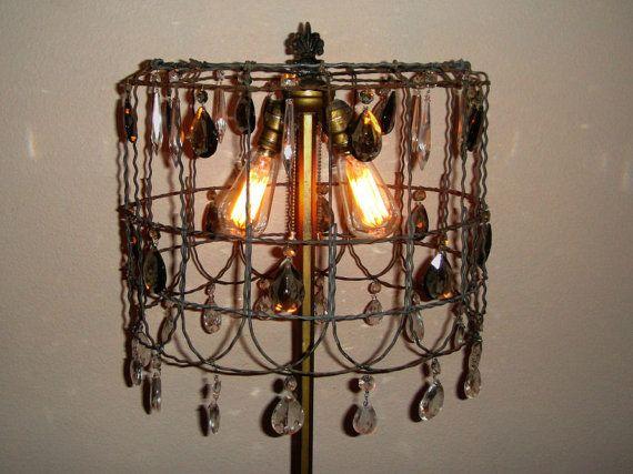 vintage steampunk lamp lighting