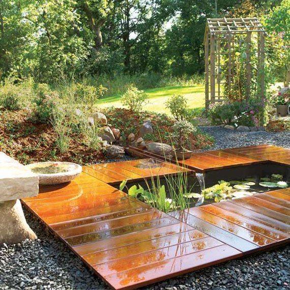 amazing backyard ponds styles