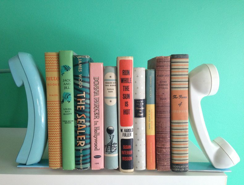cool DIY bookends styles