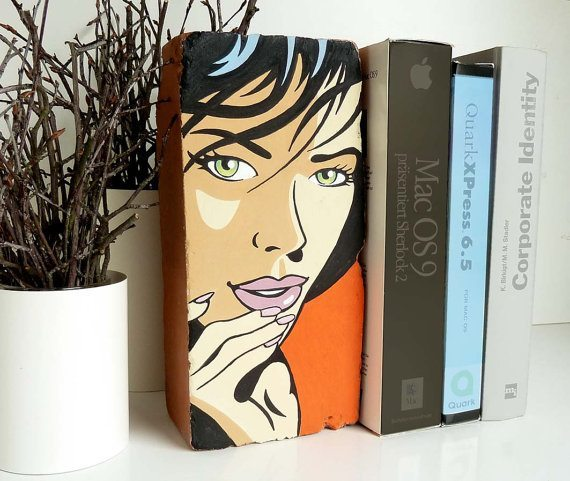 DIY Bookends - Fancy bookends