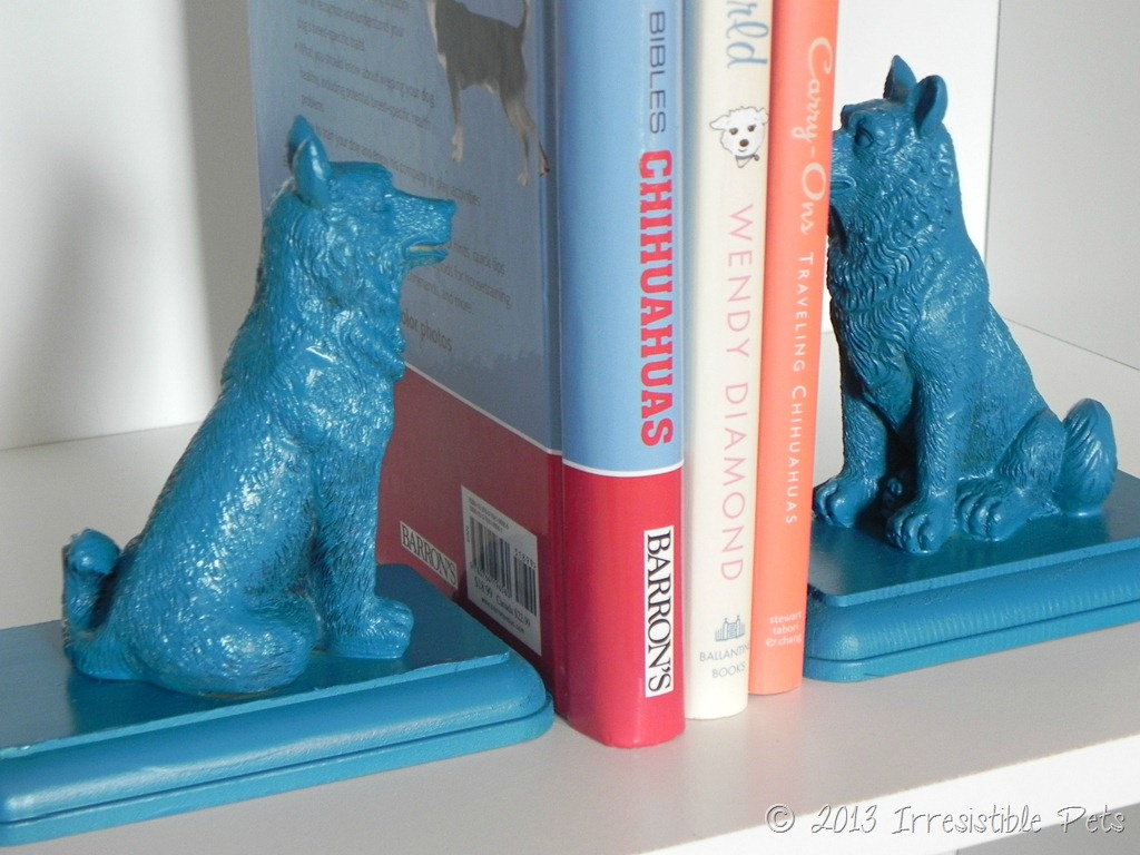 Dog Bookends DIY