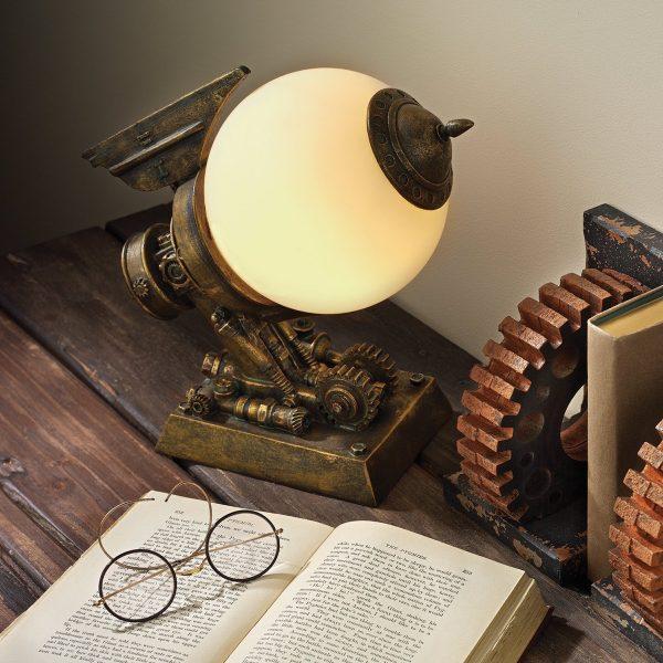 Edison steampunk decor ideas
