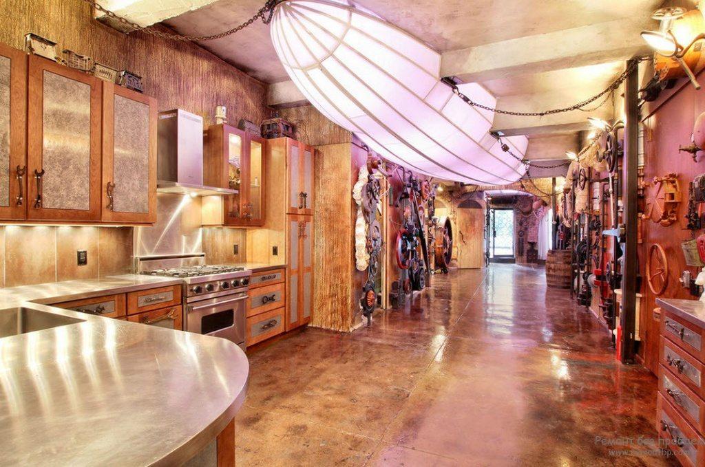 Steampunk-kitchen-kitchen-decor-ideas-modern-kitchen-decor-Steampunk-decor