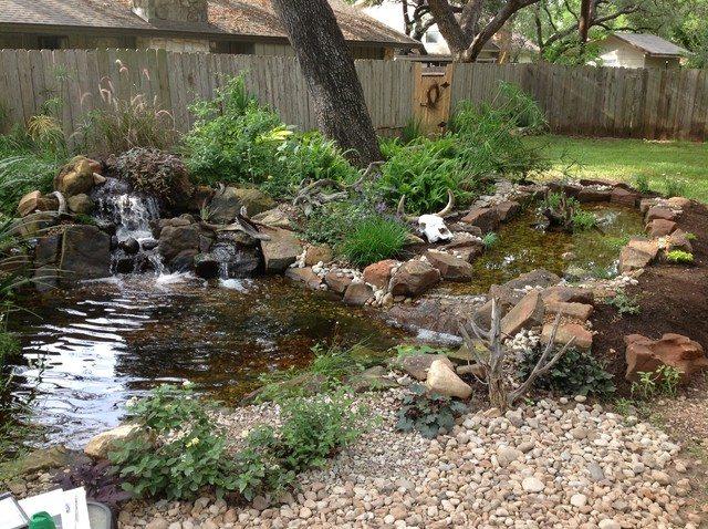 waterfall Backyard ponds