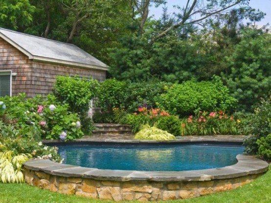 cool backyard ponds designs