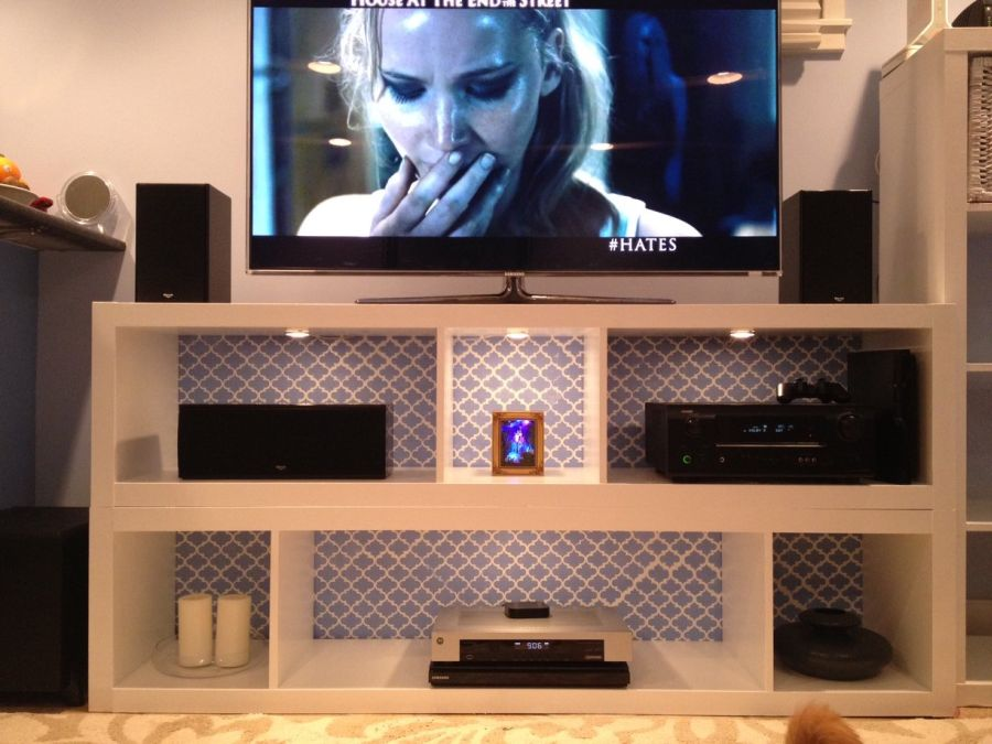 Beautiful cool tv stands from Ikea