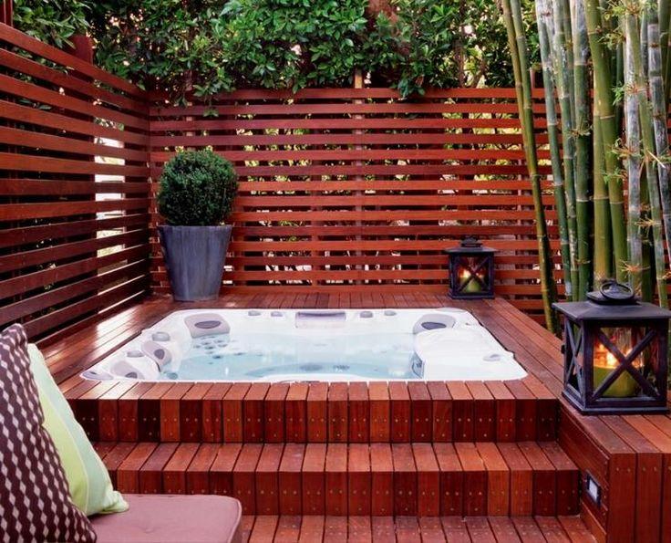 wooden outdoor jacuzzi trends